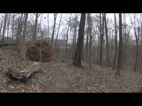 "GOPRO Union Trails Jackson Tn ""Fast Section"""