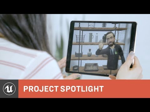 Shopify Uses VR and AR to Design a New Consumer Experience | Project Spotlight | Unreal Engine