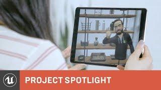 Shopify يستخدم VR و ع تصميم جديد تجربة المستهلك | المشروع الضوء | محرك غير واقعي