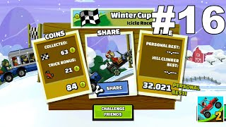 DRIVING LIKE A BOSS ON THE FIRST CAR TO DIAMOND/LEGENDARY #16: Hill Climb Racing 2 (Android, iOS)