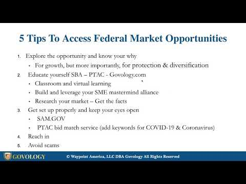 Small Business Strategies Part 1: Opportunities And Strategies To Help Keep Your Business Open