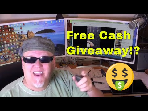 Some Youtuber Is Giving Away Cash!!!  Totally Mental!