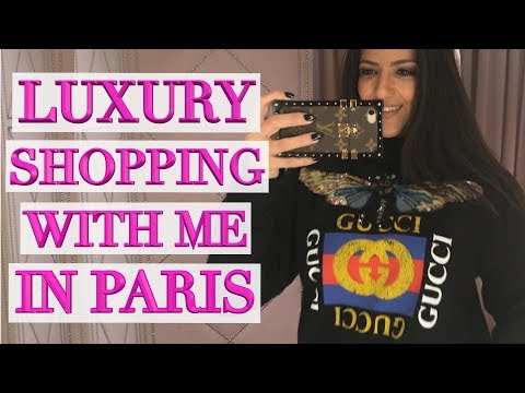 Paris Luxury Shopping - Chanel, Louis Vuitton, Hermes, Gucci