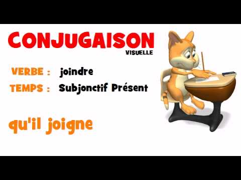 French Verb Joindre Subjonctif Present Youtube