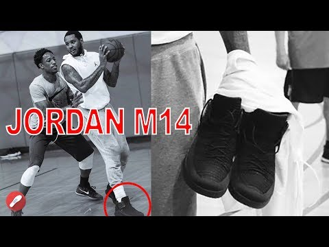 presenting buy best detailed pictures Carmelo Anthony Seen Playing in the Jordan M14?! - YouTube