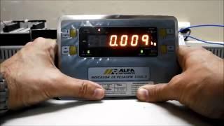 Calibração Balança ALFA com SAI
