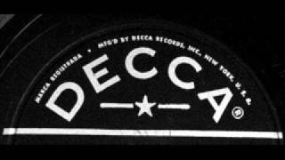 The Dipsy Doodle by Bill Haley & The Comets on Decca 78 rpm record.