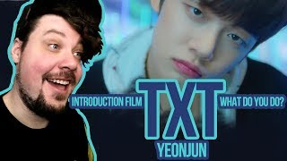 Mikey Reacts to TXT (투모로우바이투게더) 'Introduction Film - What do you do?' - 연준 (YEONJUN)