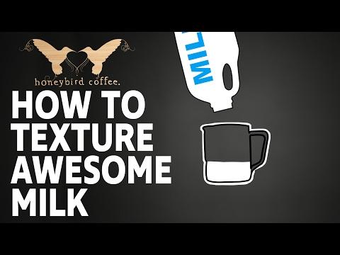 BARISTA TRAINING SERIES - Part 7 -  Milk Texturing
