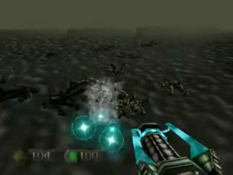 Turok 1 - Blowing Up 30 Guys In Water