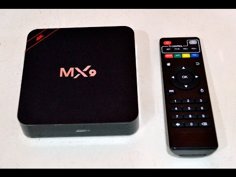[UNBOXING] - MX9 ANDROID BOX TV