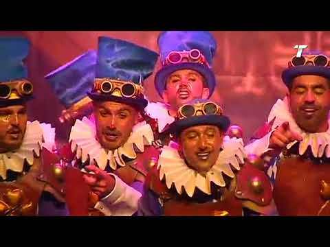 "Comparsa Isla Cristina ""La Fábrica de Corazones"" Semifinal Carnaval de Huelva 2018 - CarnavalDeIsla"