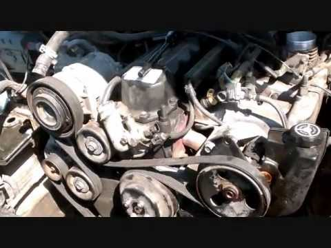 Step by step Jeep Grand Cherokee engine swap guide Part 1 - YouTube