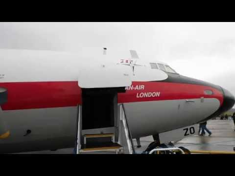 Dan Air London Airspeed AS57 Ambassador 2 G-ALZO Interior Overview at Duxford