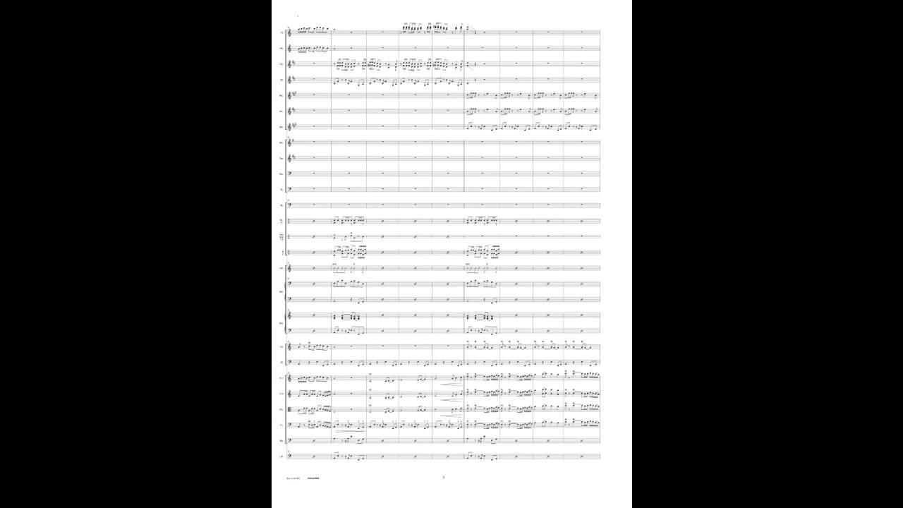 Sommerlied; Trad. Arrangement Hanspeter Reimann