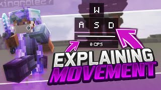 Explaining Movement in Minecraft PvP | Get Crazy Combos \u0026 Move Faster!