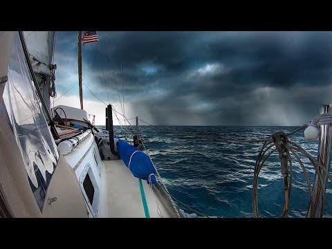 Sailing Through Squalls On The Bahama Bank  | Sailboat Story 139