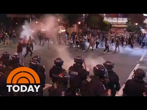 Charlotte Protests Turn Violent Again; Man Shot, State Of Emergency Declared | TODAY