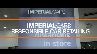 Imperial Cars responsible car retailing | Keeping customers and staff safe