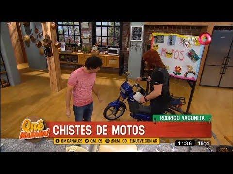 El humor de Rodrigo Vagoneta: chistes de motos