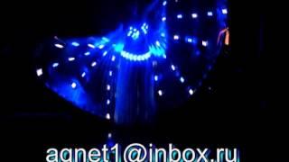 Заказать светодиодные крылья и костюмы Рахат Лукум шоу Краснодар(, 2014-09-30T09:40:11.000Z)