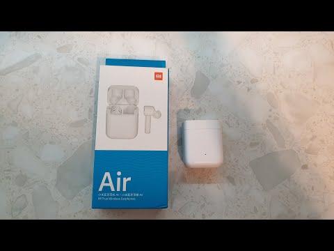 Беспроводные наушники Xiaomi Air Mi True Wireless Earphones (Airdots Pro) распаковка и обзор