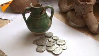 クリミアでケルチ橋の建設中に、本物の財宝が見つかった
