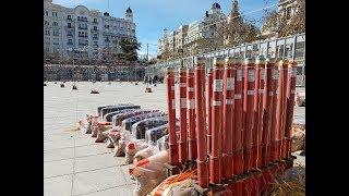 Fallas de Valencia 2018 Mascletà 3 de Marzo Pirotecnia Vulcano