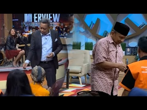 Amien Rais dan Tukul Bagi bagi Sesuatu ke Pasukan Orange Bikin Heboh Studio KompasTV