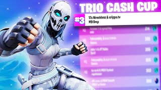 3RD PLACE in the TRIO CASH CUP 🥉 ($600) | BMP