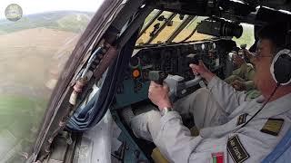 AMAZING IL-76 LOW PASS! Ilyushin Captain's serious Workout, STUNNING Minsk Low Pass!!! [AirClips]