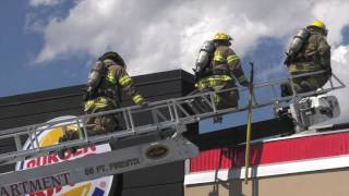 PRE-ARRIVAL: Fire at a Burger King Restaurant 06/20/17