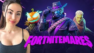SO MANY ZOMBIES! *NEW* Fortnitemares Update LIVE! (Fortnite Battle Royale)