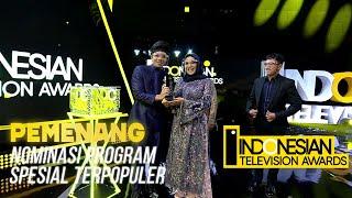 Download PEMENANG NOMINASI PROGRAM SPESIAL TERPOPULER - INDONESIAN TELEVISION AWARDS 2021