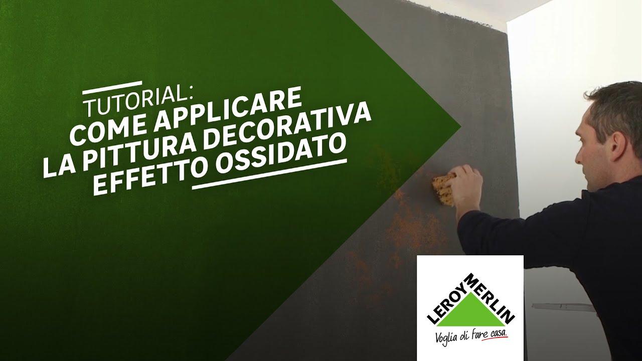 Come Applicare La Pittura Decorativa Effetto Corten E Ossido Leroy