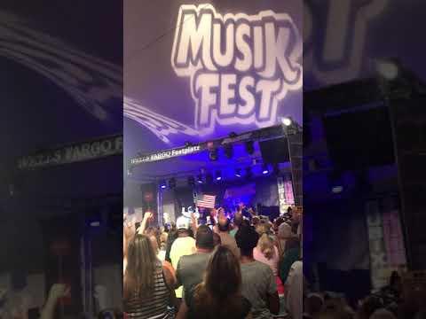 Rubix Kube intro at Musikfest 2018