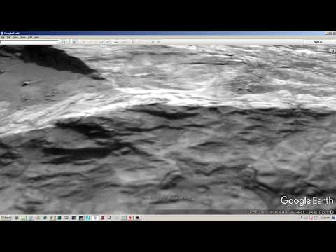 N.A.S.A Official Mars HD+3D Images Viewed In Google Earth Program Show Evidence For Existing Life !