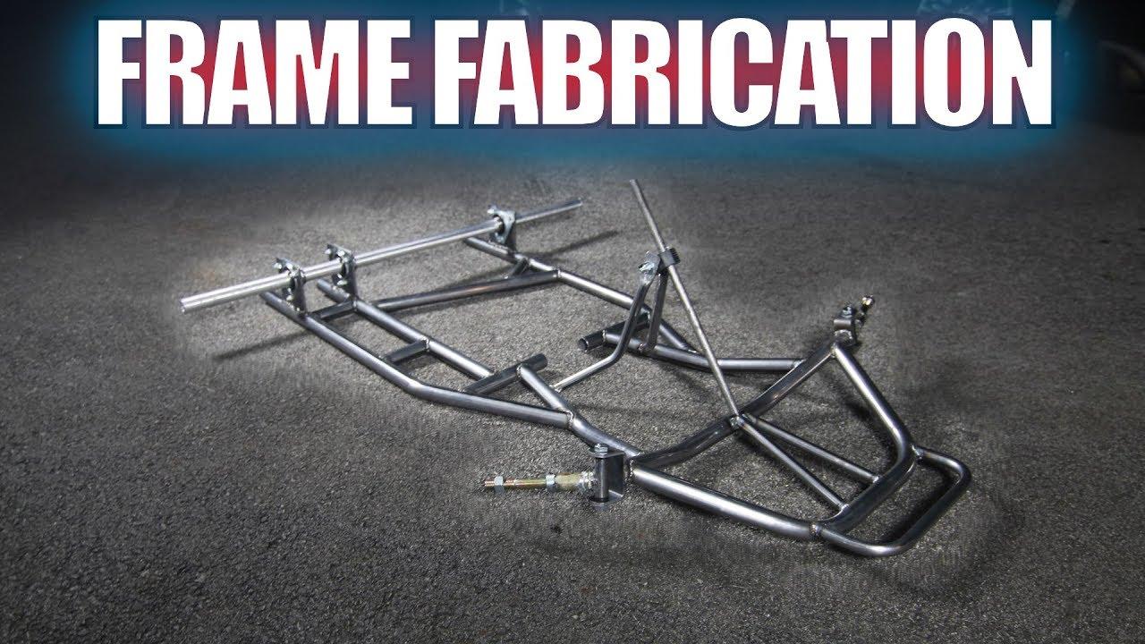 CUSTOM SHIFTER KART BUILD PART 2: FRAME FABRICATION