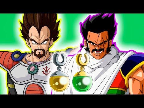 KING VEGETA ft PARAGUS *Old Design* Dragon Ball Fusion Game Photoshop