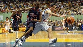 USA vs South Korea 2006 FIBA Basketball World Championship Exhibition FULL GAME English