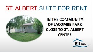 Suite For Rent In St. Albert (043 - Mf)