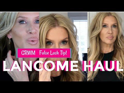 Lancome Sunday Haul & QUICK GRWM | False Lash TIP!!