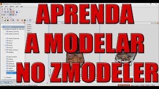 COMO MODELAR UM CARRO NO ZMODELER // APLICAR TEXTURA E ADESIVOS