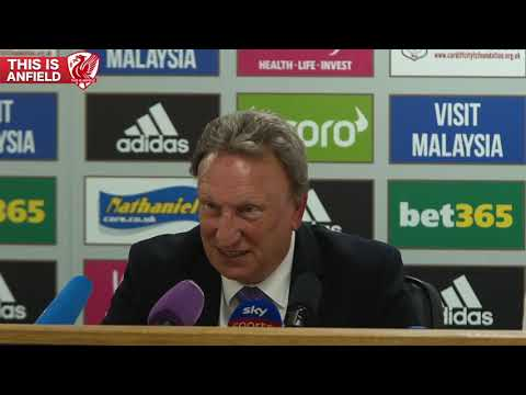 Neil Warnock On Cardiff 0-2 Liverpool