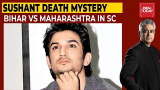 Sushant Death: Bihar Vs Maharashtra In SC   Newstoday LIVE With Rajdeep   India Today Live TV