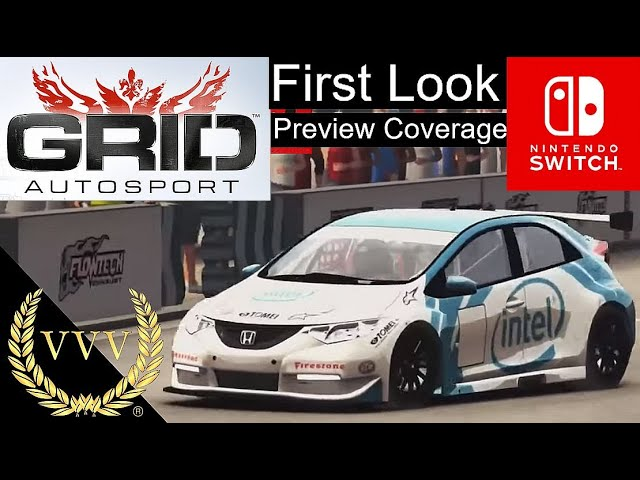 First Look: GRID Autosport on Switch