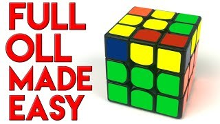 How To Learn Full OLL Quickly And Easily