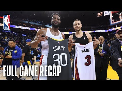 HEAT vs WARRIORS | Thrilling Finish In Oracle! | February 10, 2019