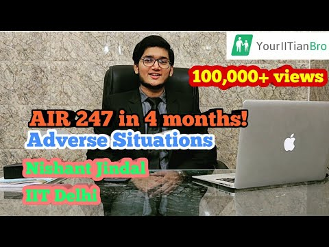 Success Story of Nishant Jindal IIT Delhi | AIR - 247 JEE Advanced