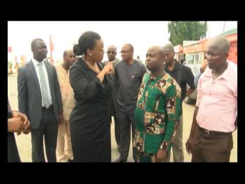 FUEL CRISIS 2: Diezani Alison-Madueke visit Lagos, March 12 2014